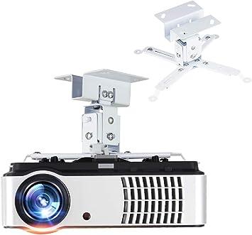 Amazon.com: Soporte de proyector de techo extensible ...