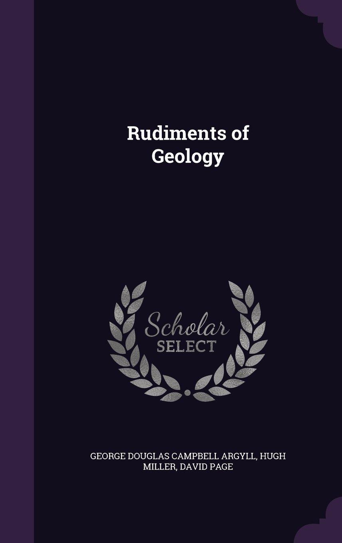 Read Online Rudiments of Geology PDF