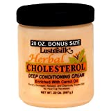 Lustrasilk Herbal Cholesterol Deep Conditioning Cream Enriched with Carrot Oil 20.0 oz