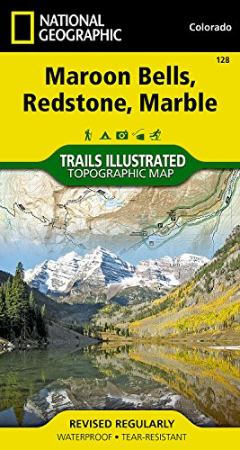 Maroon Bells, Redstone, Marble (National Geographic Trails Illustrated (Maroon Bells)