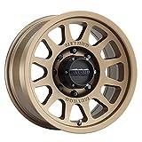 "Method Race Wheels 703 Method Bronze 17x8.5"" 8x6.5"", 0mm offset 4.75"" Backspace, MR70378580900"