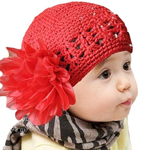 - Meily(TM) Flower Toddlers Infant Baby Girl Lace Hair Band Headband Headwear Hat