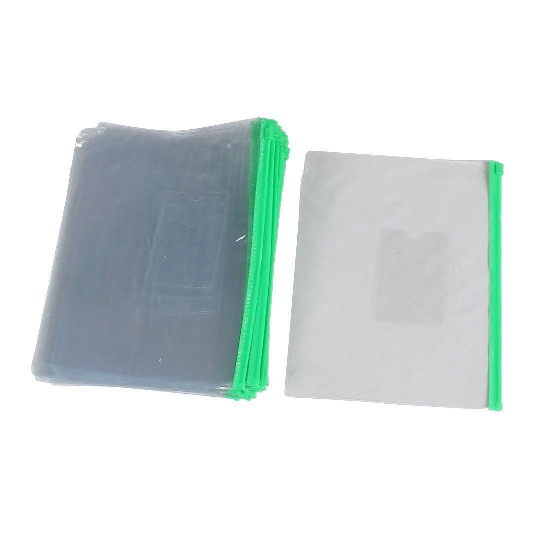 c5b156e5c732 Amazon.com : Uxcell Zipper Closure A5 Paper Slider Folders Files ...