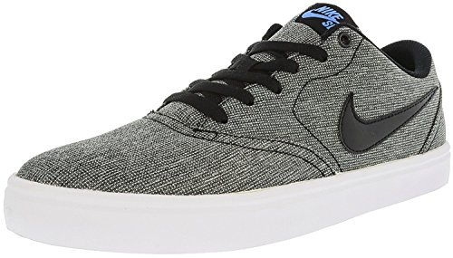 Blue Multicolore Canvas Skateboard Solarsoft white Chaussures Check Skateboardschuh Homme black black De 001 Nike photo OqRpfyw