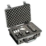 Pelican 1150-000-110 1150 Case with Foam Small DSLR Camera Case (Black)