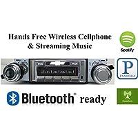 Bluetooth Enabled 1970-1972 Chevy Impala Caprice USA-630 II High Power 300 watt AM FM Car Stereo / Radio USB, Aux, iPod inputs