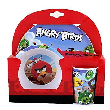 Angry Birds 3-Piece Dinnerware Set