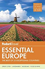 Ready to experience Europe? The experts at Fodor's travel guides are here to help. Fodor's Travel Guides are written by locals and have been offering expert advice for all tastes and budgets for more than 80 years.  With its sophisticated cul...