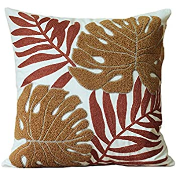 Amazon Com Ambesonne Beige Decor Throw Pillow Cushion