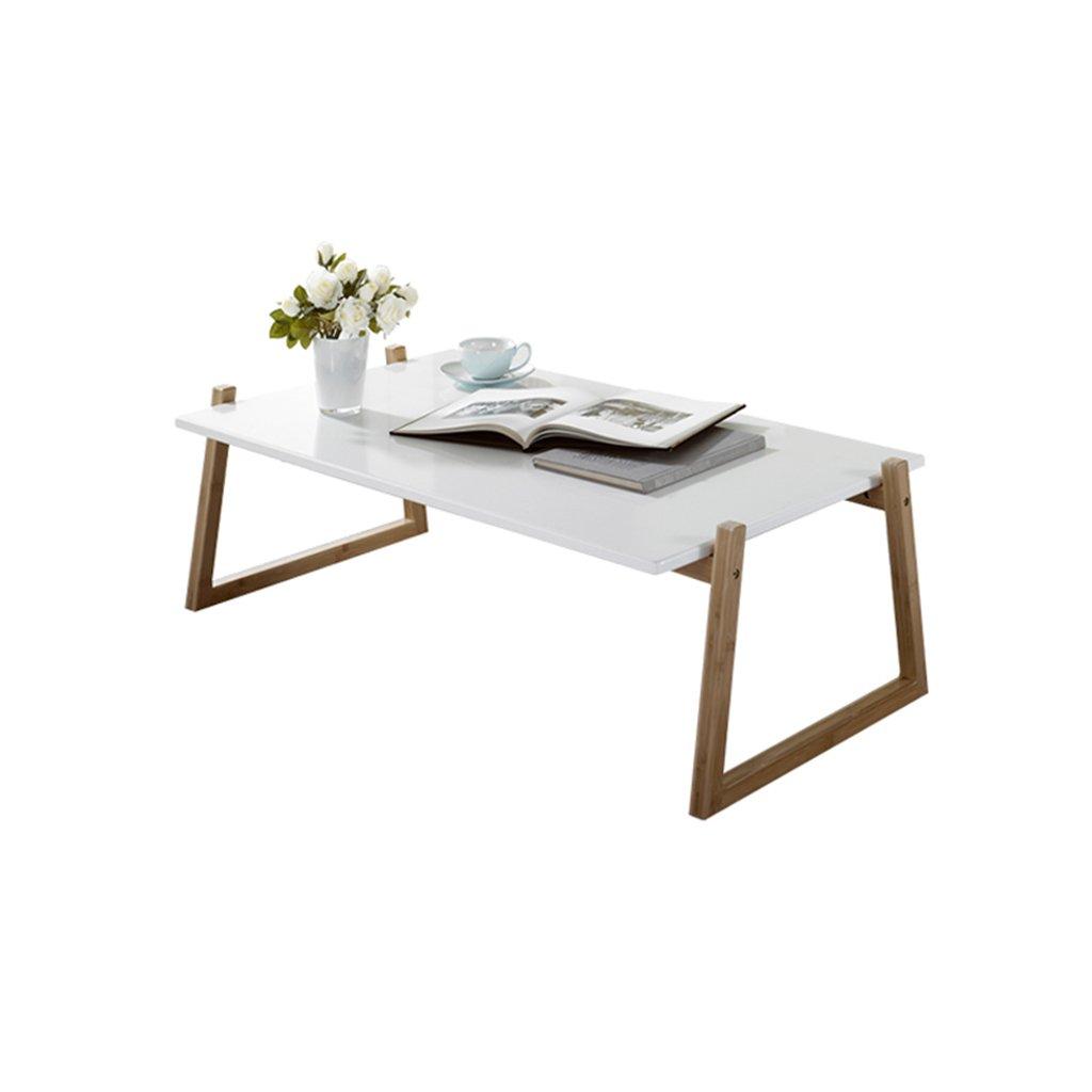 XZGang ソリッドウッドテーブル、ベッドソファサイドローテーブルティーテーブルベッドルームレストランクリエイティブ多機能装飾レジャーテーブル シンプルな人生を創造する (色 : A-107*60*34CM)  A-107*60*34CM B07PHSWQ37