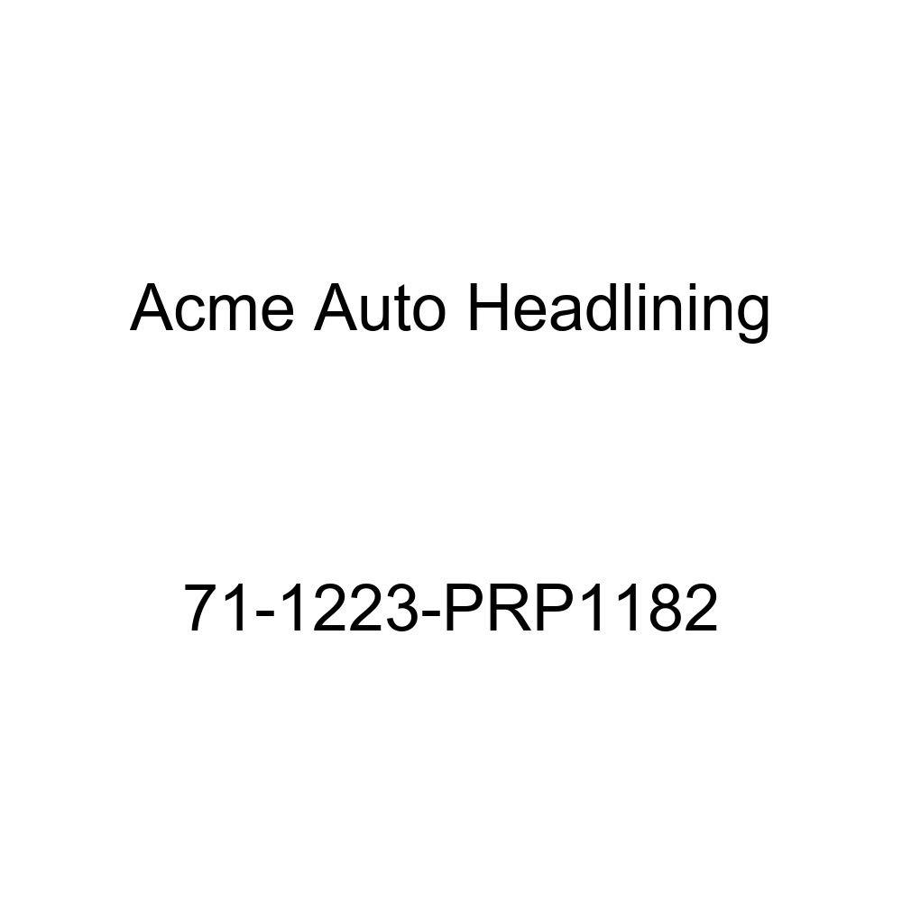 Acme Auto Headlining 71-1223-PRP1182 Blue Replacement Headliner 5 Bow 1971 Oldsmobile Cutlass Supreme 2 Door Hardtop