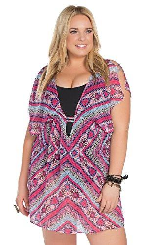 Becca-ETC-Womens-Plus-Size-Secret-Garden-Chiffon-Cover-Up-2X-BeccaEtc16Mlt