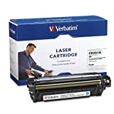 Verbatim HP CE251A Remanufactured Laser Toner Cartridge, Cyan 97481
