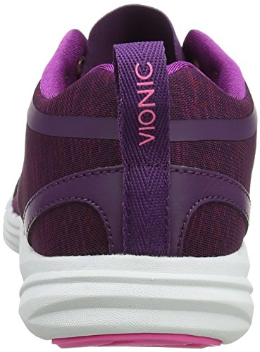 Vionic Con Tecnologia Orthaheel Womens Fyn Lace Up Sneaker Viola
