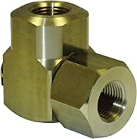 """Coxreels 439 Replacement Swivel with Nitrile Seal,Brass, 1/2"""" NPT"""