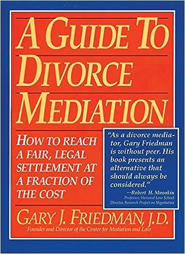A Guide To Divorce Mediation How To Reach A Fair Legal Settlement