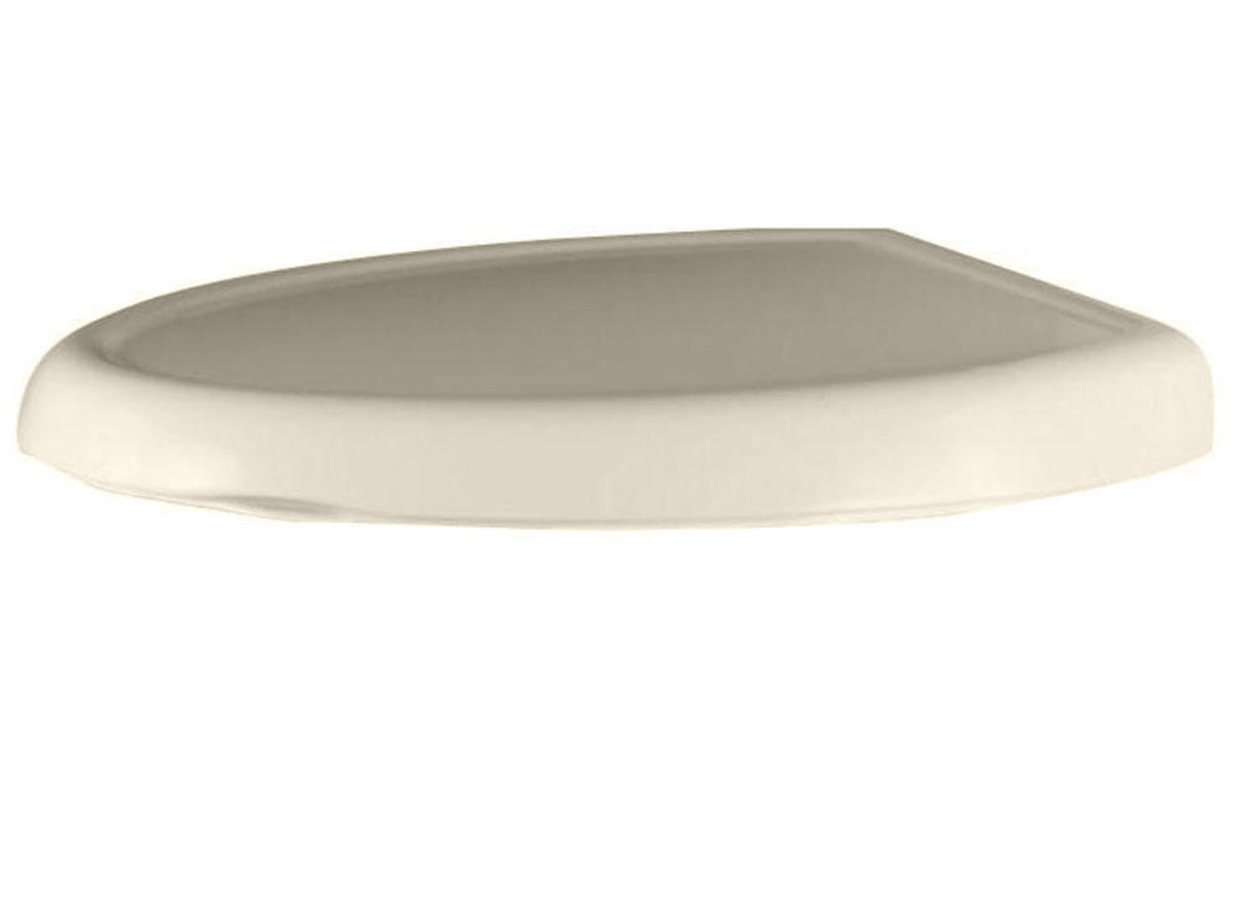 Bone American Standard 5345.110.021 Cadet-3 Round Front Slow Close Toilet Seat with EverClean Surface