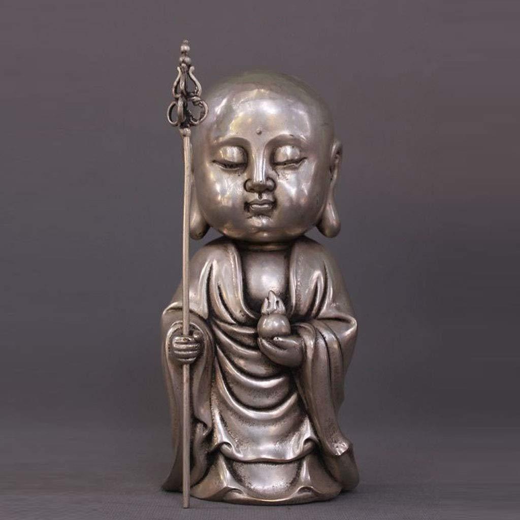 LXYFMS Tibet Tibetan Buddhism Temple Silver Dig Buddha Buddha Buddha Statue Crafts