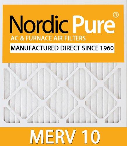 16x19x1 MERV 10 AC Furnace Filters Qty 6