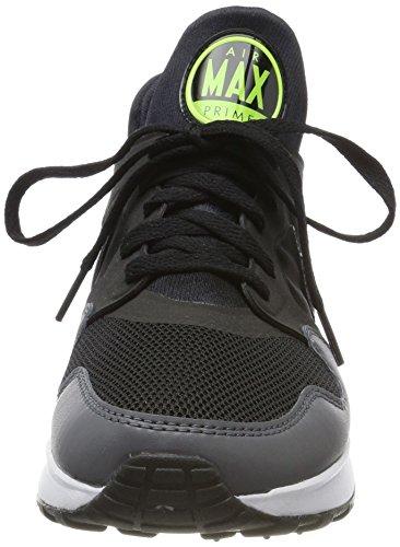 Nike Mens Air Max Prime Scarpe Da Ginnastica Nere (nero / Nero-grigio Scuro-vert Volt)