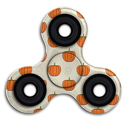 Pumpkin Patterns Printable (Fidget Spinner Toy - Printable Pumpkin Pattern Fidget Spinner High Speed Stainless Steel Bearing ADHD Focus Anxiety Relief Toys - Perfect For ADD, ADHD, Anxiety, And Autism Adult Children)