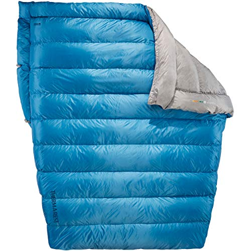 Therm-a-Rest Vela 2-Person 32-Degree Puffy Down Camping Quilt