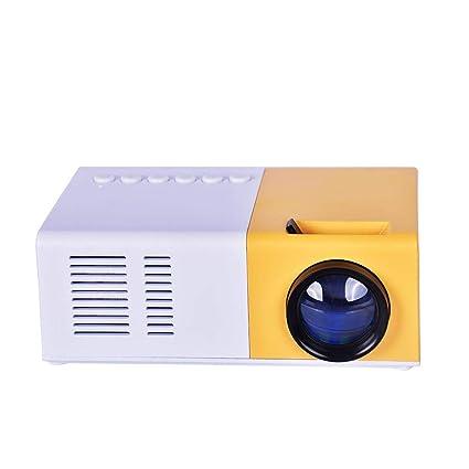 Corwar Proyector WiFi J9 Mini portátil 1080P Proyector Miniatura ...