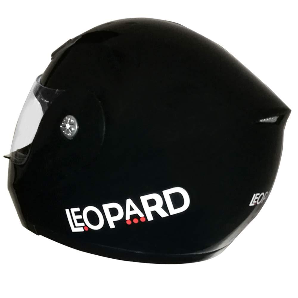 57-58cm Leopard LEO-717 Flip up Front Motorcycle Motorbike Helmet Yellow M