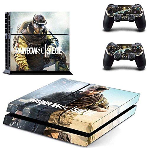 FPS Game - PS4 Skin Console - PS4 Controller Skin Cover Vinyl Decal Protective by Teemeow (Best Rainbow Six Siege Skins)
