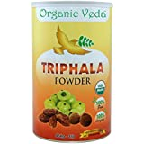 Organic Triphala Powder 16 Ounce - 1 Lb. 100% Pure and Natural Herbs Raw Organic Super Food Supplement. Non GMO. Gluten FREE. ★ USDA Certified Organic ★ ALL NATURAL!