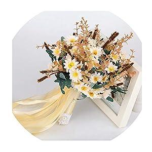 Bouquet Artificial Wedding Flowers Wedding Bouquet for Brides Outside Wedding Brooch Bridal Bouquets 47
