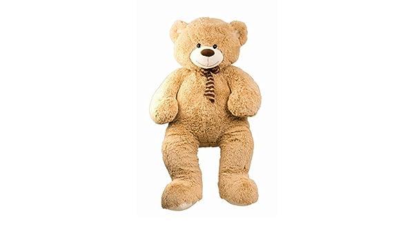 Oso de peluche oso de peluche XXL 150cm Grande Oso de peluche Peluche gigante samtig suave-de verdad: Amazon.es: Juguetes y juegos
