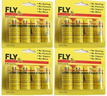 Starbar Lure-Fly Single Super Sticky Fly Paper Ribbon Pack Of 100