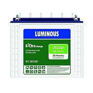 Luminous Eco 18036 150Ah Tubular Battery