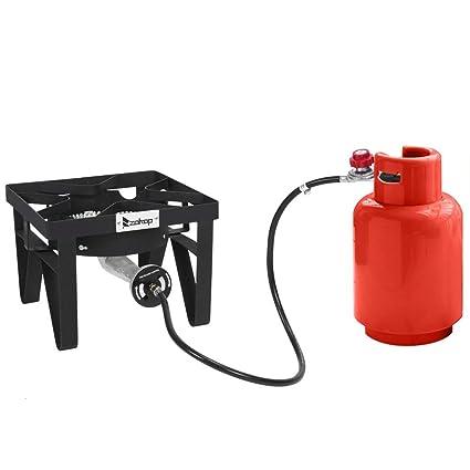 Amazon.com: Zoffyal 200,000 BTU estufa de gas propano para ...