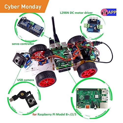 Where to find robot kit raspberry pi? | All Next