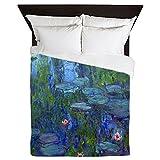 CafePress - Monet - Queen Duvet Cover, Printed Comforter Cover, Unique Bedding, Microfiber