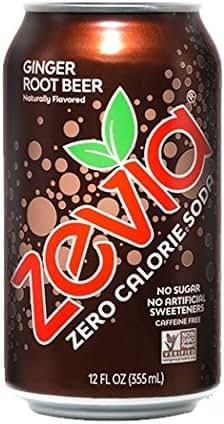 Soft Drinks: Zevia Ginger Root Beer