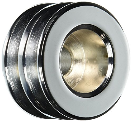 Powermaster 112 Chrome Double V-Belt Pulley