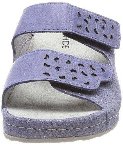 Rohde Femme Amalfi Rohde Jeans Mules Bleu Amalfi 55 rPvwIr