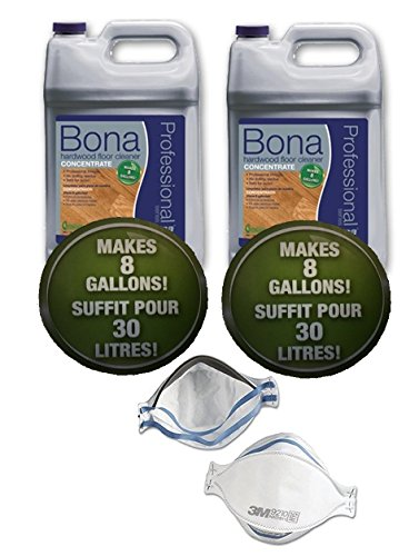 Bona Professional Hardwood Cleaner Concentrate - 128 fl oz each [Pack of 2] by Bona (Image #1)