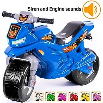 Amazon.com: supermopi bebé Motorbike Ride-On Toy – Turquesa ...