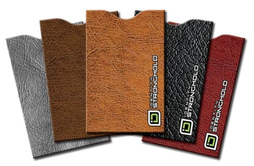 identity-stronghold-designer-sleeves-leather-look-collection-pack-of-5-idshleatherlook5pk