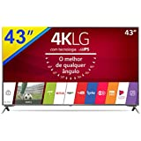 "Smart TV LG Ultra HD 43"" Painel IPS 4K 43UJ6525 com WebOS 3.5, HDR e Magic Mobile Connection"