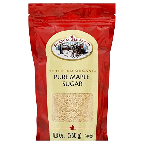 Shady Maple Farms Organic Pure Maple Sugar, 8.8 Ounce - 8 per case.