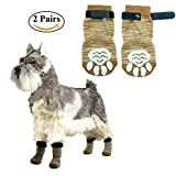 Anti-Slip Dog Socks Pet Paw Protection for Indoor Wear by PupTeck