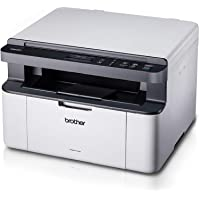 Brother Multi-Function with Print, Copy and scan Monochrome Laser Multi-Function Printer, Black, (DCP-1510)