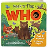 img - for Who: Peek-a-Flap Board Book book / textbook / text book