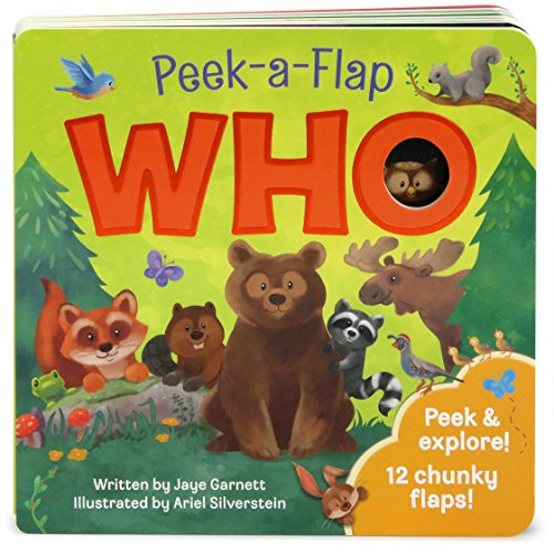 (Who: Peek-a-Flap Board Book)