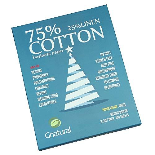 75% cotton 25% linen paper,85gsm inkjet laser printing paper,8.5